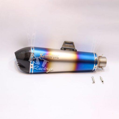 po-akrapovic-cnc-xanh-titanium-nhap-khau